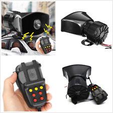 Black ABS DC12V Autos Off-Road 7 Sound Tone Speaker Alarm System Max 300DB 100W