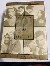 Studio Classics: The Best Picture Collection (Dvd, 2003, 4-Disc Set) Slip Cover