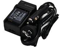 Battery+Charger CGA-S008 S008A S008E 1B DMW-BCE10 BCE10E VW-VBJ10 VBJ10EK VBJ10G