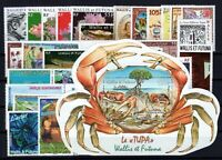 BX144004/ WALLIS & FUTUNA FRENCH TERRITORY / 2009-2010 COMPLETE YEARS MNH 143 $