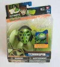 "New - TERRASPIN - 4"" Ben 10 ULTIMATE ALIEN Action Figure - 2010 Bandai #27775"