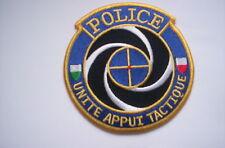 Aufnäher Schweizer Polizei  Police Uniite Appui Tactique ca 10 cm