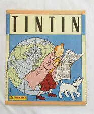 BD - Album Tintin Panini / EO 1986 COMPLET / HERGE / PANINI & LOMBARD