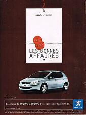 PUBLICITE ADVERTISING 114  2005  PEUGEOT  307