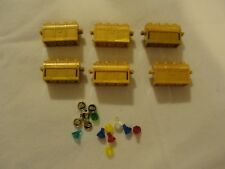 Lot of 6 Lego gold treasure chests Legos