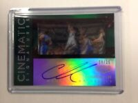 2015-16 Panini Gala Cinematic Signatures Auto Courtney Lee 18/25