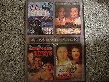 4-MOVIE PACK: U.S. SEALS / RACE / AMERICAN STRAYS / SANTA FE (DVD, 1997)