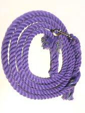 Cotton Lead Rope Purple