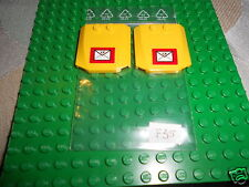 LEGO   7731   Mail  Van  2  'Wedge 4 x 4 x 2/3 Curved' (45677) with  sticker