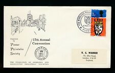 PHILATELIC CONVENTION 1967 PINNER SPECIAL POSTMARK