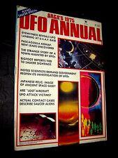1975 Saga UFO Annual Magazine Supernatural Flying Saucer Bigfoot Conspiracy !