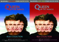 Queen The Miracle Blue & Red Expanded Collector's Edition 4 CD 2 DVD Masterworks