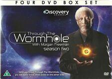 Wholesale Lot 100 x Through the Wormhole with Morgan Freeman Season 2 4 DVD Set