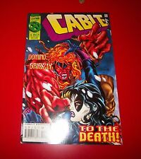 Cable Volume 1 #24 [X-Men Deluxe] Lost Souls w/ Over Power Card Exc Cond1995