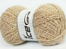 Sand Twister 100 Grams Ice 42334 Acrylic Wool Nylon Yarn - Beige Worsted 207yds