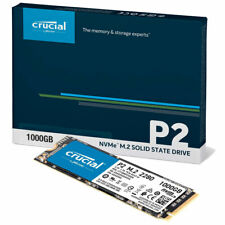 Crucial P2 SSD 1TB M.2 2280 PCIe 3.0 x4 (CT1000P2SSD8) - interne M2 SSD