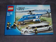 2010 Lego City / Town 3222 Helicopter and Limousine Brand New, Sealed, MISB