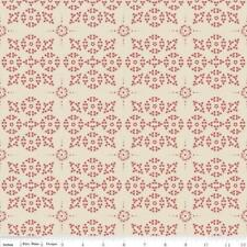 Raspberry Parlour - Dot Cream - Riley Blake Fabric - Half yard FREE POST