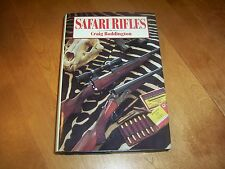 SAFARI RIFLES Craig Boddington Rifle Cartridges Africa African Hunting Gun Book