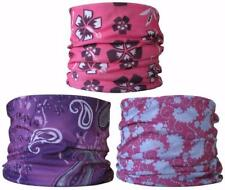 (3 PACK)Neck Tube Skiing Mask Snow boarding Base Layer Head Hair Band Purple Hat