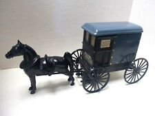 Vintage Amish Horse & Buggy Whiskey Decanter by Michter's Schaefferstown Pa.-Usa