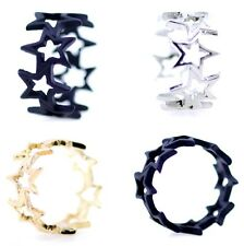 lovely connected star ring , multiple designs