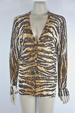 Dolce & Gabbana Long Sleeve Leopard Print Cardigan  Size L