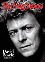 Rolling Stone Magazine DAVID BOWIE TRIBUTE 1947-2016 NEW