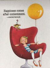 Mary Engelbreit Artwork-Happiness Comes-Handmade Fridge Magnet