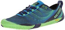Merrell Men's Vapor Glove 2 Trail Running Shoe, Racer Blue/Bright Green, 11 M U