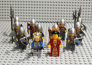 """Lego Ritter Figuren Sammlung mit Zubehör """" Castel """""""