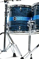 "Crush Drums Sublime Maple ST 18"" Floor Tom/Blue Sparkle Stripe/# 620/New"
