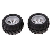 Left Wheel Rubber Tire Tyres for WLtoys A979 A979-B A979-A A979-01 RC Buggy Car