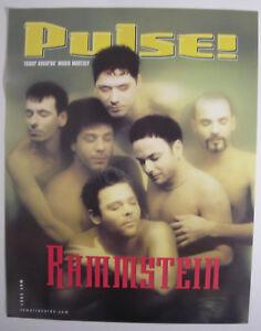 RAMMSTEIN PULSE MAGAZINE US PROMO POSTER 2001