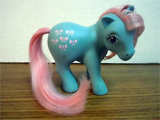 BOWTIE 1984 Earth Ponies My Little Pony G1 Vintage