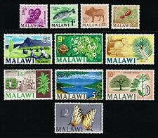 Malawi 1966-67 set to £2, MH (SG252/262)