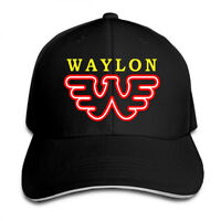 Waylon Jennings Snapback Baseball Hat Adjustable Cap