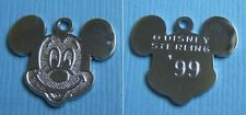 '99 sterling charm Vintage Mickey Mouse Disney