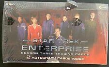 Star Trek Enterprise Season Three 3 -Sealed Trading Card Hobby Box- Rittenhouse