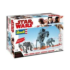 Revell 06761 Star Wars Episode VIII Build and Play Heavy Assault Walker With
