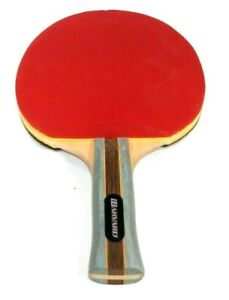 Harvard Sports Competition Line Ping Pong Paddle Black Red