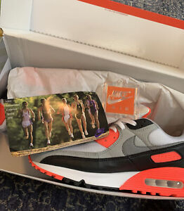Nike Air Max III 90 (2020) Infrared Radiant Red White Cool Grey Sz 11.5