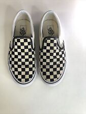 Vans Checkerboard Slip On Trainers - Size 8
