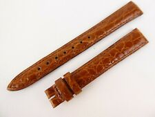 Genuine Jaeger LeCoultre Brown Leather Watch Strap 12mm w7+