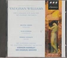 C.D.MUSIC  D678  VAUGHAN WILLIAM'S : JOB / PILGRIM'S PROGRESS     CD