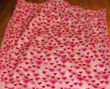 Girls Pajama Pants sz 16 OLD NAVY Pink w/Rose, Red, White & Pink Hearts NEW