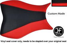 Personalizado De Vinilo Negro y Rojo para Honda CBR 1000 RR 08-11 Fireblade Cubierta de asiento solamente