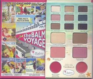 TheBalm Voyage Vol ll- 9 Eyeshadow, 2 Lip & Cheek Stains, Luminizer Palette