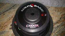 Vintage Kicker Solo Baric S10D Car Audio Subwoofers Pair