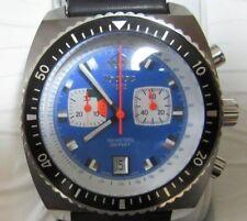 Very rare ZODIAC Sea Dragon Chronograph  ZO2213 very nice Diver   🚚 FAST & FREE
